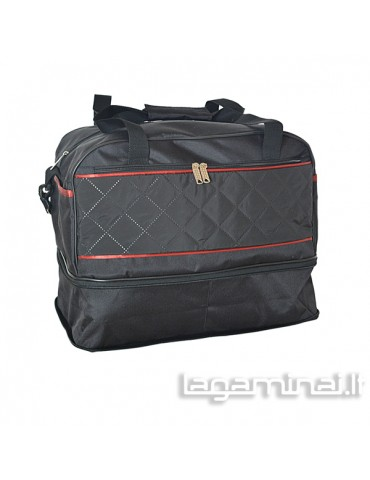 Travel bag W504R BK/RD...