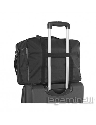 Travel bag W502C BK/RD...