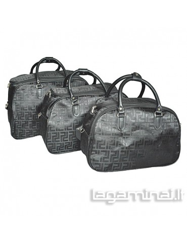 Travel bag set Z062-2/L BK