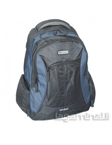 Backpack SNOWBALL BK/BL 44202