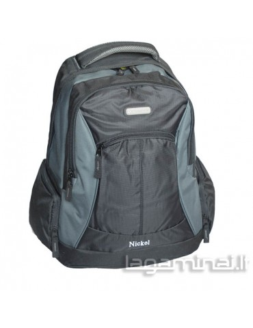 Backpack SNOWBALL BK/GY 44202