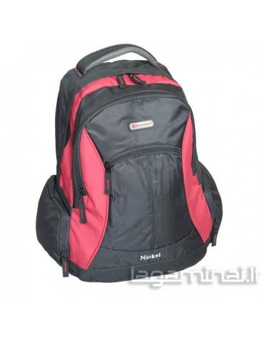 Backpack SNOWBALL BK/RD 44202