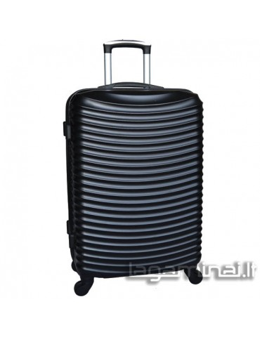 Medium luggage JONY L-021/M BK