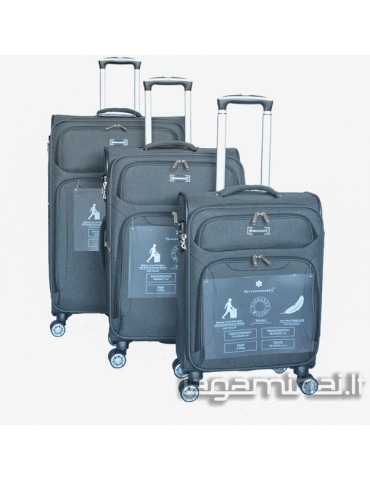 Luggage set SNOWBALL 91903 BK