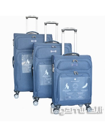 Luggage set SNOWBALL 91903 BL