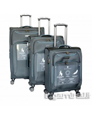 Luggage set SNOWBALL 91703 BK
