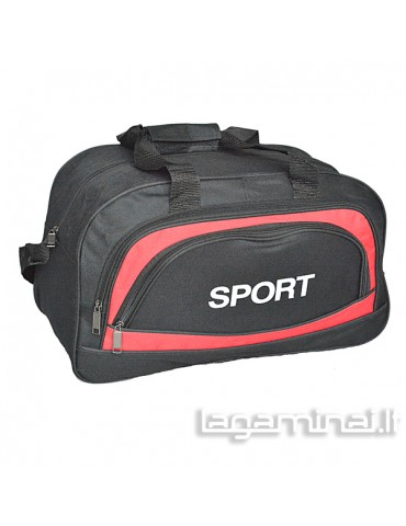 Travel bag SPORT 162150 BK/RD