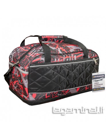 copy of Travel bag W504C BK/RD