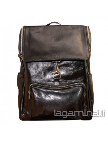 Leather backpack ITALY...
