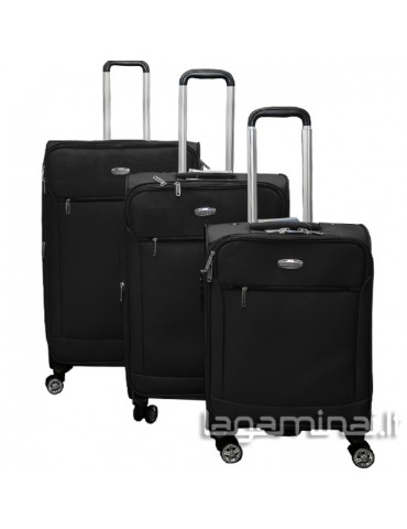 Luggage set SNOWBALL 95303 BK