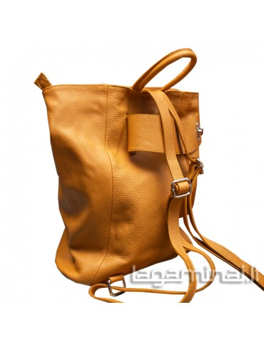 Leather backpack KN69 YL