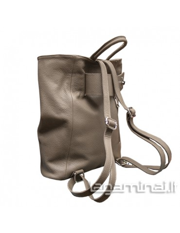 Leather backpack KN69 TP