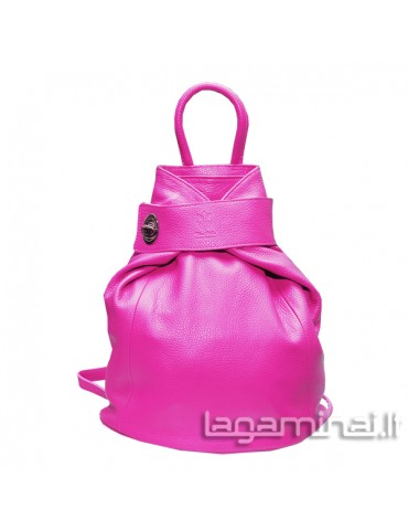 Leather backpack KN69 PK