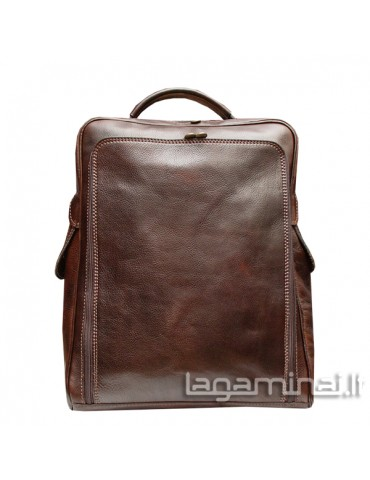 Leather backpack ITALY KN130