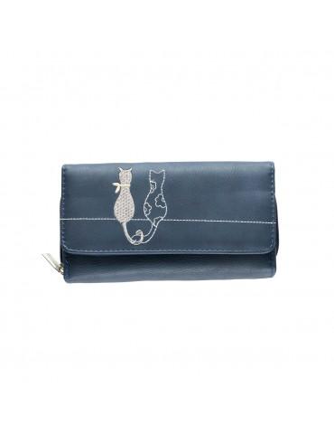 Wallet Nicole Brown PS157 BL