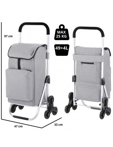 Shopping bag with wheels...