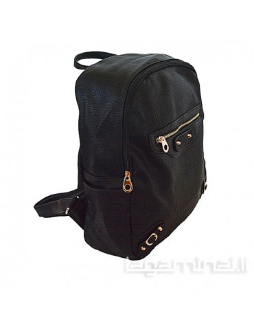 Women's backpack  9673 BK