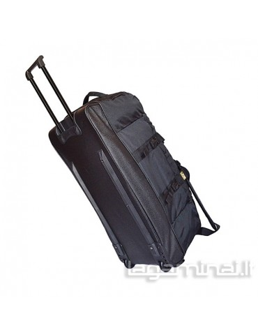 Travel bag with wheels TB38 BK