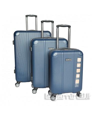 Luggage set  SNOWBALL 79503 BL